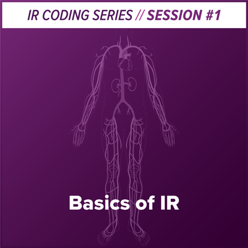 Basics of Interventional Radiology Coding webcast image
