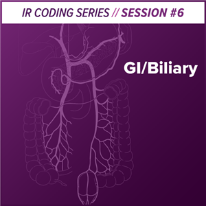 GI/Biliary Interventional Radiology Coding webcast image