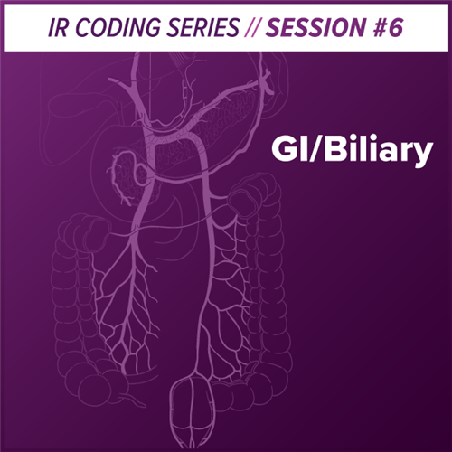 GI/Biliary Interventional Radiology Coding