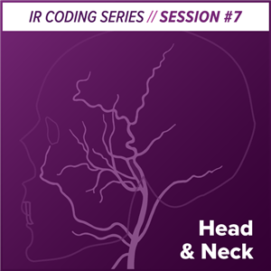 Head and Neck Interventional Radiology Coding
