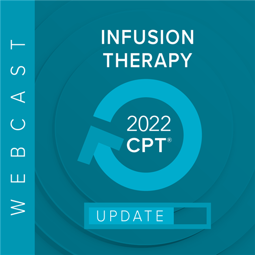 Hospital Outpatient Infusion Services: 2019 Reimbursement & Compliance Update Webcast Image