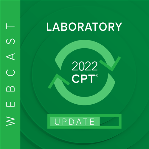 2021 Laboratory Coding Update Webcast Image