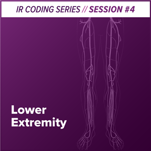 Lower Extremity Interventional Radiology Coding webcast image