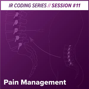 Pain Management Interventional Radiology Coding webcast image