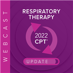 2019 Respiratory Therapy Reimbursement & Compliance Update Webcast Image