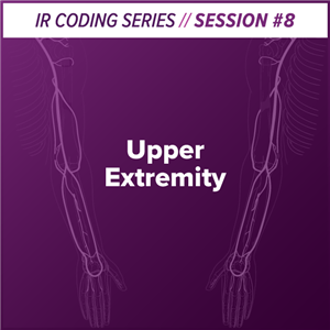 Upper Extremity Interventional Radiology Coding