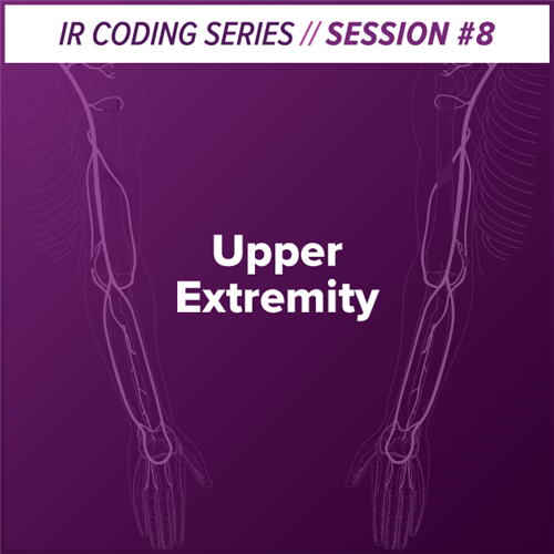 Upper Extremity Interventional Radiology Coding webcast image
