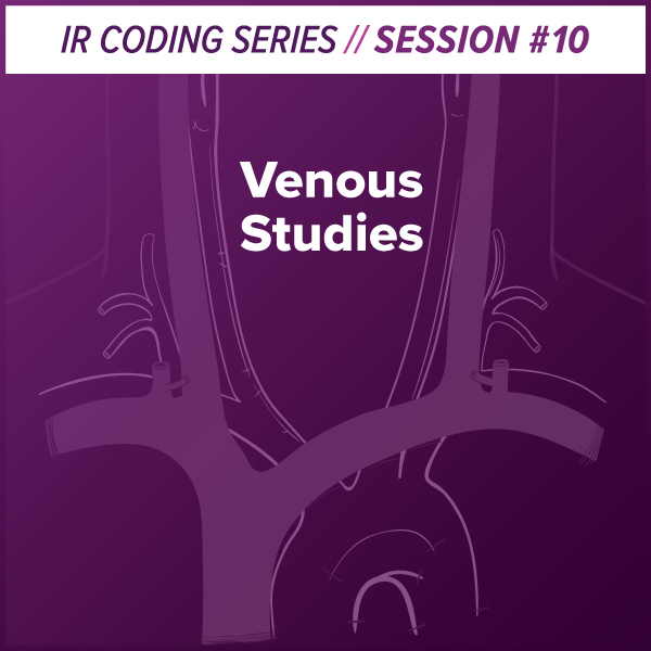 Venous Studies Interventional Radiology Coding