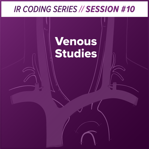 Venous Studies Interventional Radiology Coding webcast image
