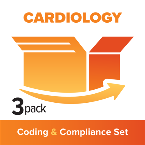 Cardiology 3-Part Coding, Billing & Compliance Set image