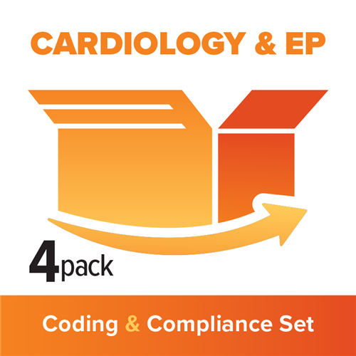 Cardiology and Electrophysiology 4-Part Coding, Billing and Compliance Set image