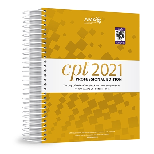 CPT 2021 Professional Edition book image