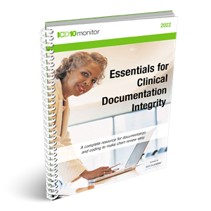 Essentials for Clinical Documentation Integrity book image