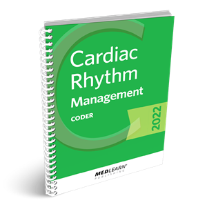 Cardiac Rhythm Management Coder book image