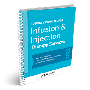 Coding Essentials for Infusion & Injection Therapy Services