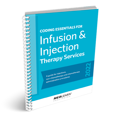 Coding Essentials for Infusion & Injection Therapy Services book image