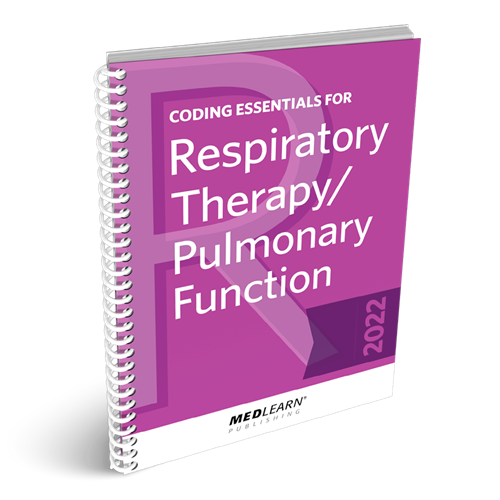 Coding Essentials for RT/Pulmonary Function book image