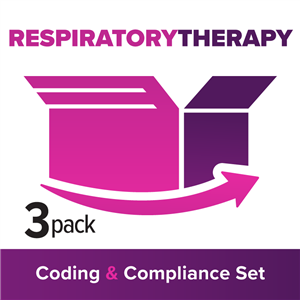 RT/Pulmonary Function: 3-Part Coding, Billing & Compliance Suite image