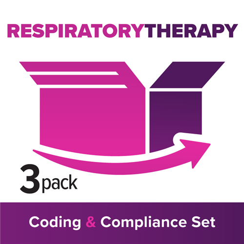 RT/Pulmonary Function: 3-Part Coding, Billing & Compliance Set image