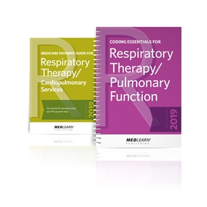 RT/Pulmonary Function Coding & Billing Suite book images