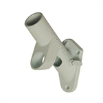 2 Position, Multi-Purpose Aluminum Bracket - White