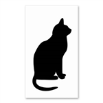 Cat Signature Sign Tile