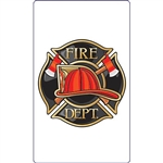 Fire Department Signature Sign Tile