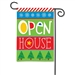 "Open House Decorative Flag Garden - 12 1/2"" x 18"""