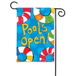 Pool's Open Decorative Flag