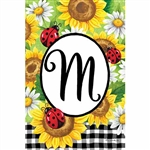 Decorative Flags, Applique, Monogram