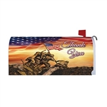Troops Memorial Magnetic Mailbox Cover