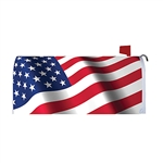 Waving Flag Magnetic Mailbox Cover