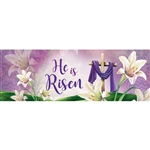 He is Risen Signature Sign