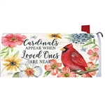 Cardinals Appear Magnetic Mailbox Cover