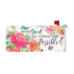 With God Magnetic Mailbox Cover