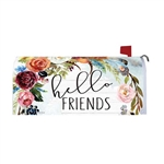 Hello Friends Magnetic Mailbox Cover