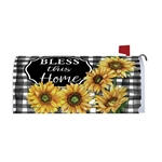 Home Sweet Sunflowers Magnetic Mailbox Cover