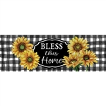 Home Sweet Sunflowers Signature Sign