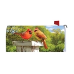 Sunflower Fence Magnetic Mailbox Cover