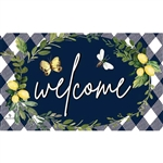 Lemon Welcome Floormat