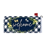 Lemon Welcome Magnetic Mailbox Cover