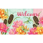Dragonfly Cattails Floormat