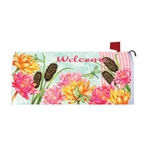 Dragonfly Cattails Magnetic Mailbox Cover