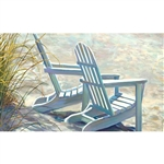 Beach Adirondacks Floormat