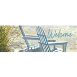 Beach Adirondacks Signature Sign