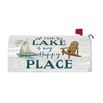 Lake Happy Place Magnetic Mailbox Cover