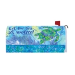 Boho Turtle Magnetic Mailbox Cover