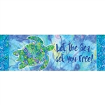 Boho Turtle Signature Sign