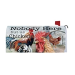 Chicken Farm Magnetic Mailbox Cover