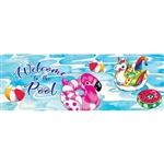 Pool Floaties Signature Sign